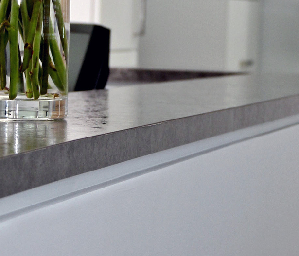 Countertop/reveal detail photograph