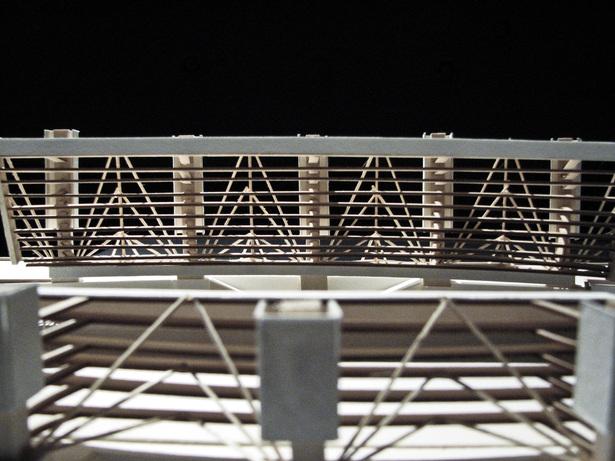 Inverted Stadium. Study Model. First Iteration.