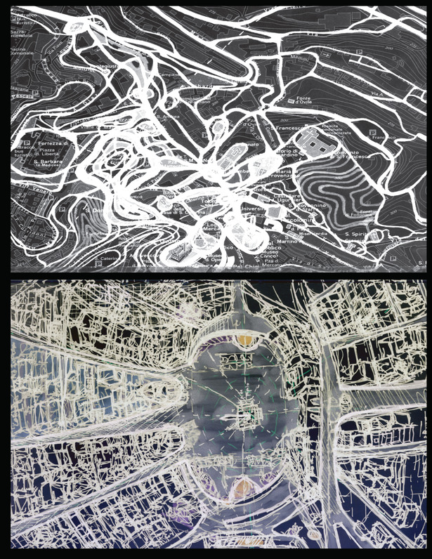Siena Mapping/ Piazza de Popolo