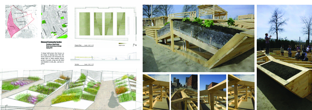 Elmwood Community Garden - Design Build