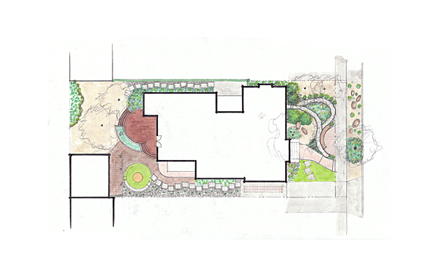 Landscape Plan Option C