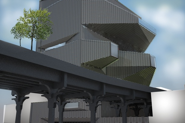 Daytime render-under Highline