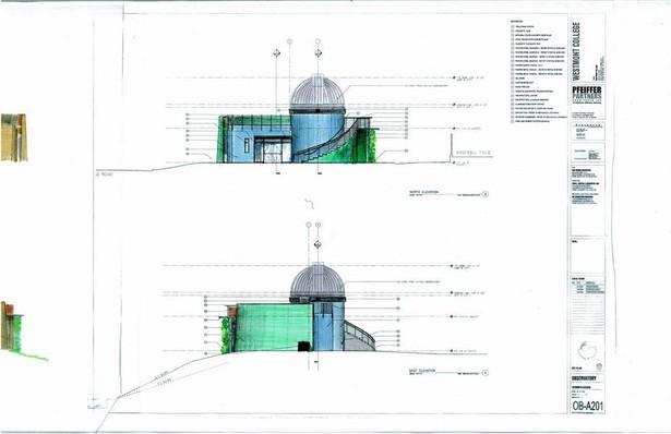 Westmont College ObservatoryHand Renderings