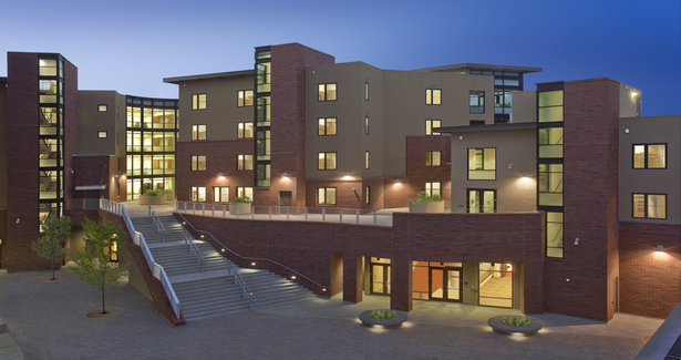 CSU Chico Sutter Hall Residence Complex, Chico CA, LEED-NC Gold