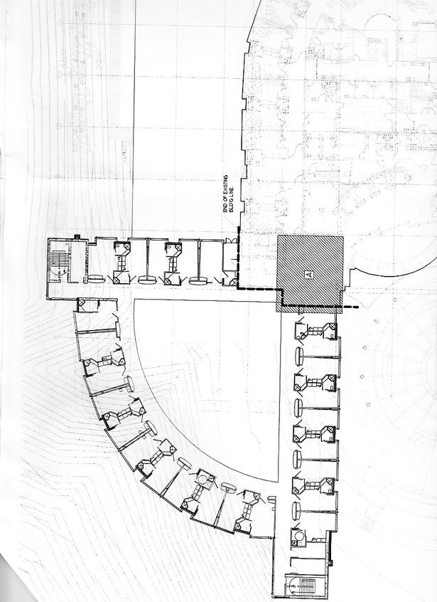 Proposed patient rooms. Huntsman Cancer Institute, Utah.