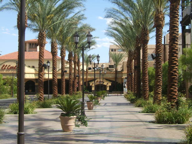 El Cortez walkway and events area