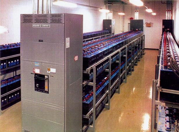 UPS Battery Room