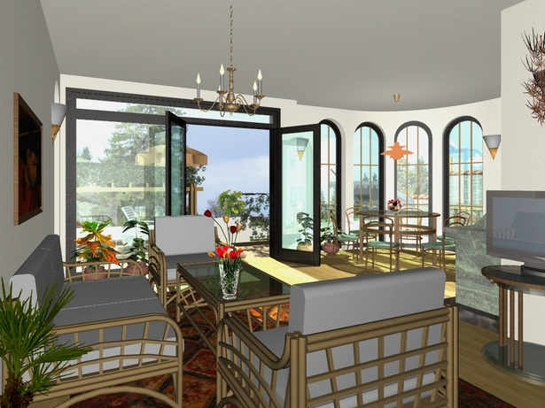 Private House Villa Kalina - visualization interior