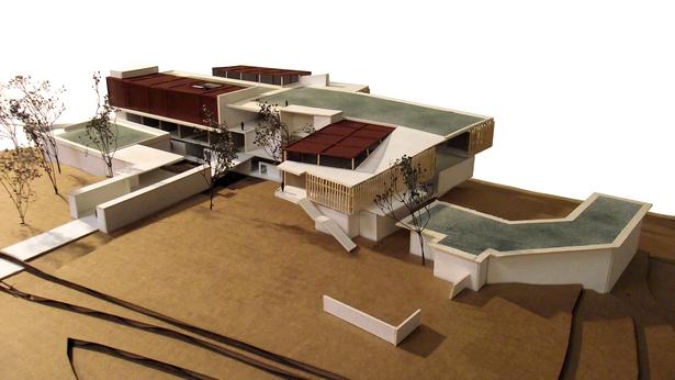 1/16 Scale Building Model