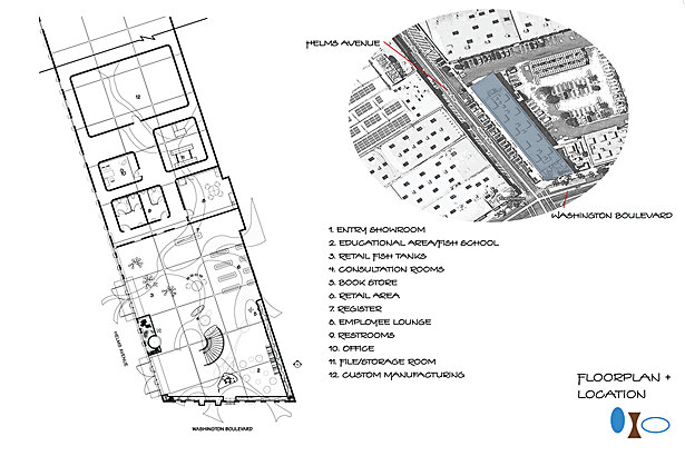 Location and Orientation of Building Tract