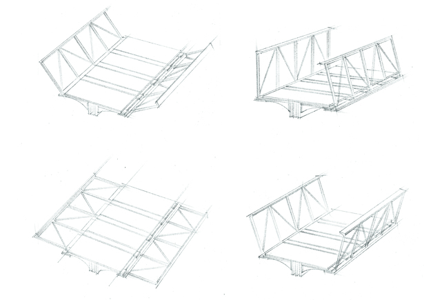 Unfolding Bridge Sketch