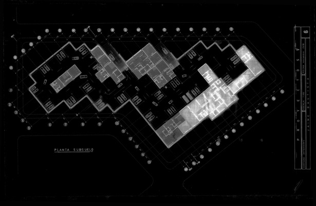 Underground Parking Level. Design & Model by J. F. Bautista