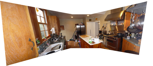 Existing Kitchen Panorama
