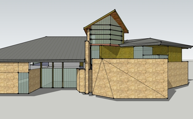 sketchup model in progress
