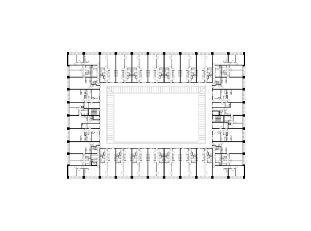 Claus en Kaan Architecten / First floor plan