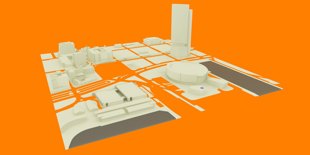 Project context 3D model