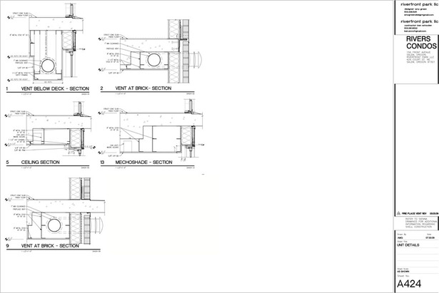 CAD details for project