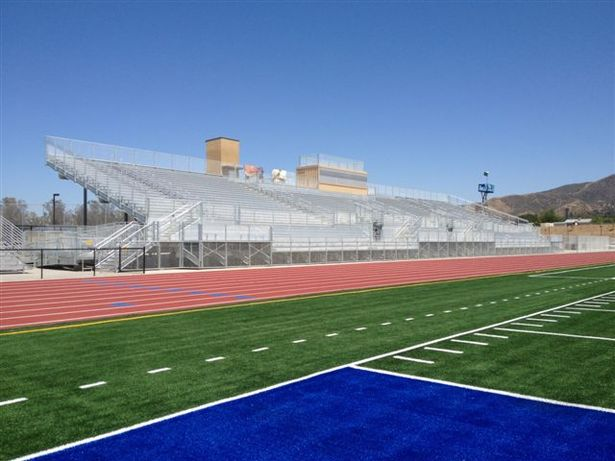 Home Bleacher and Press Box of BHS New Athletic Complex