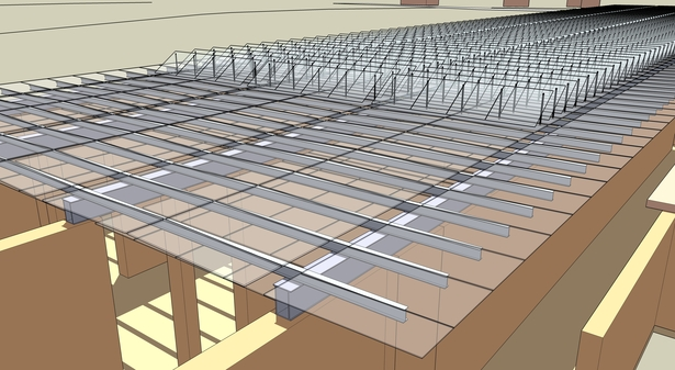 Renzo Piano - Beyeler foundation (Autocad and SketchUp)
