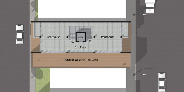 Option A - Fifth Floor Plan