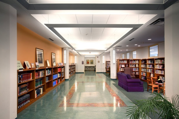 Library interior