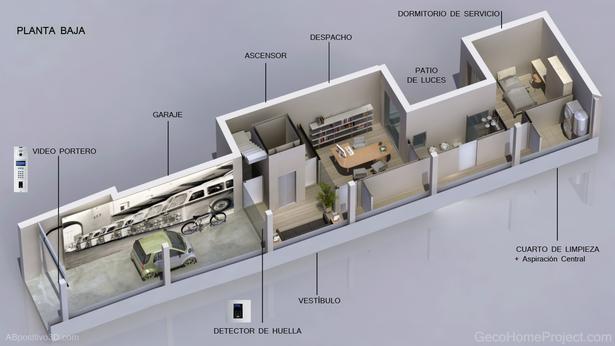Valencia's Passive house.