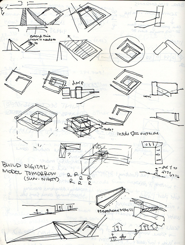 diagrammatic sketches