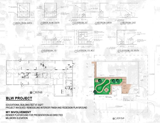 AUTOCAD DRAFT/ PHOTOSHOP RENDERING