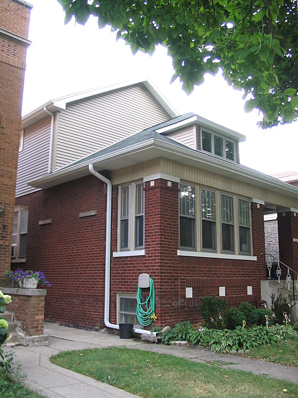 Chicago Bungalow Style Addition