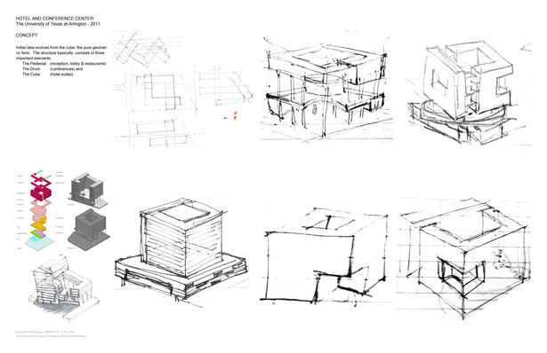 Conceptual sketches