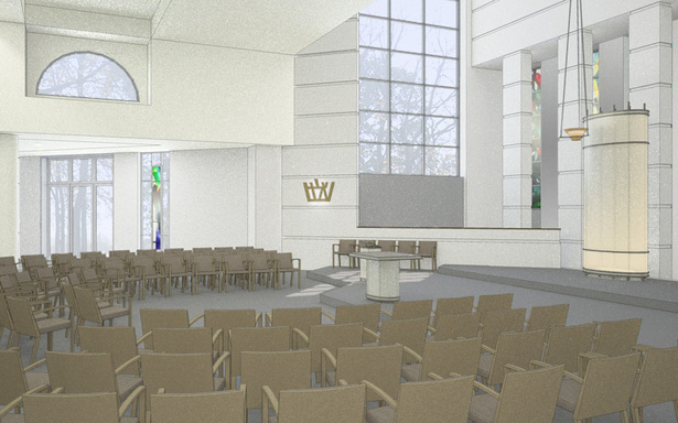 Proposed Sanctuary renovation