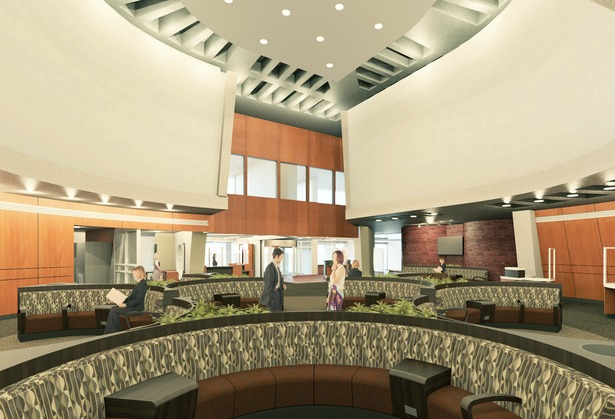 Lobby rendering