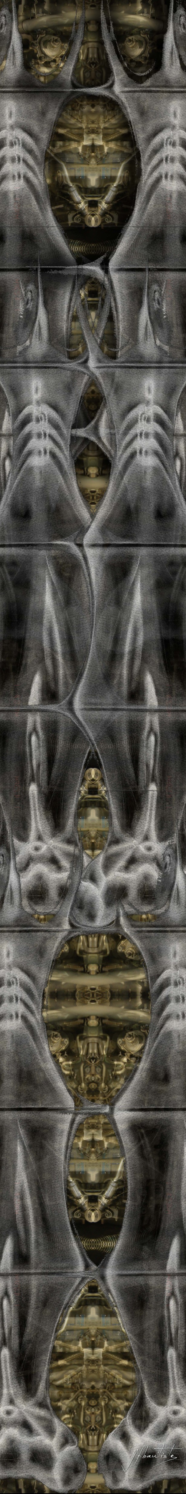 X-Ray of a highrise building