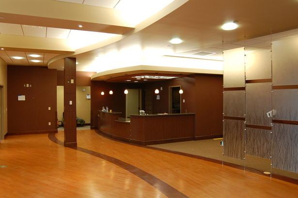Opthalmology Suite Reception and Optical display space