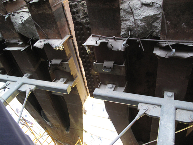 WTC VOEC - Trident Artifact Structural Bracing