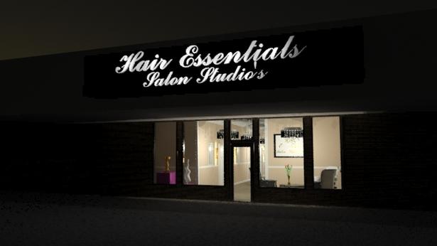 Hair essential salon studio 39 s shanita rutland archinect for Beauty salon exterior design