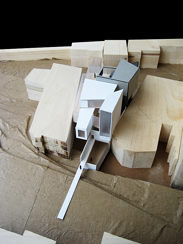 final model view from north