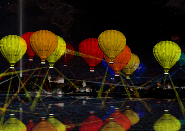 05 HOT AIR BALLOON NET / EVENT