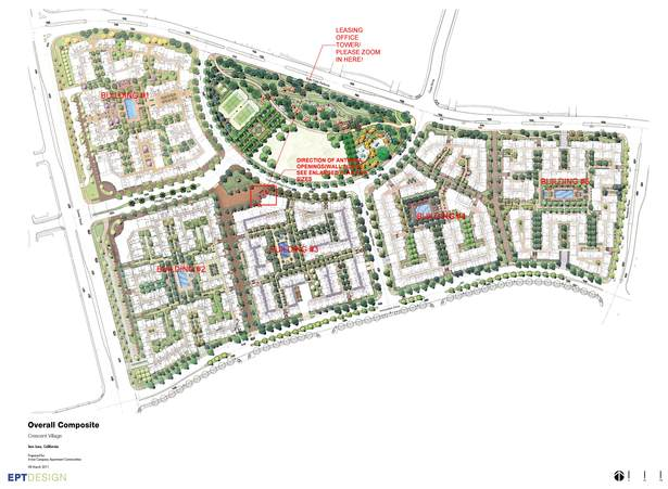 Crescent village apartment complex ratima pisalyaput for Apartment complex map maker