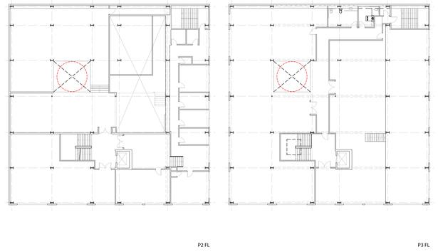P2 + P3 floors
