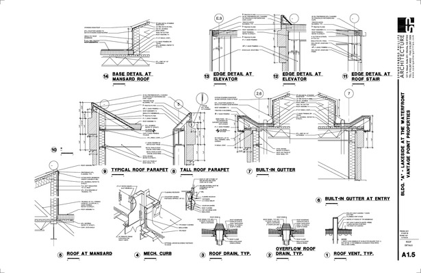 Vantage Roof Details