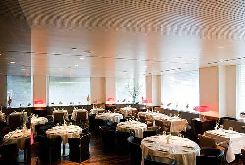 main dining room of Marea Restro
