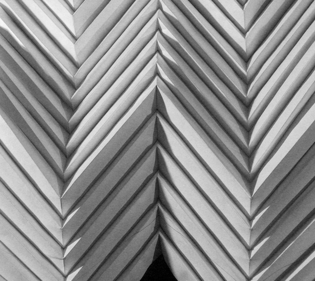 The Chevron geometry. Paper model.