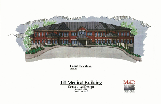 Till Medical Building - Conceptual Elevation