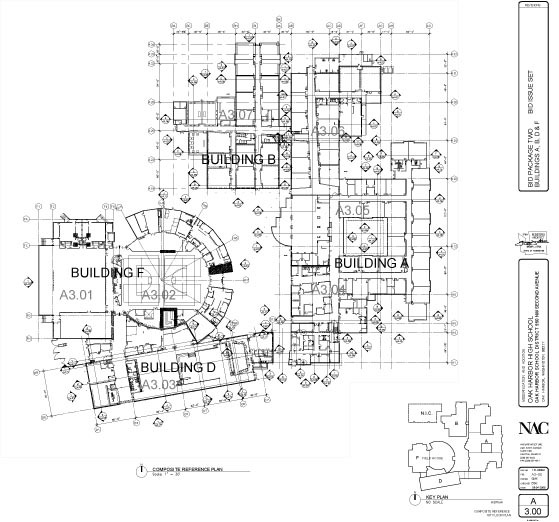 Construction Documents - Reference plan