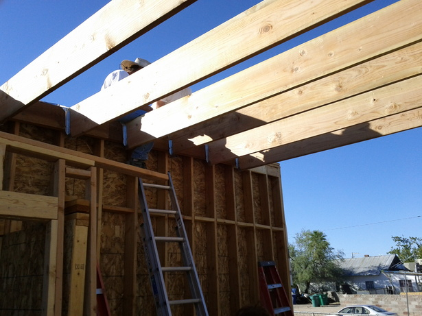 hanging roof beams