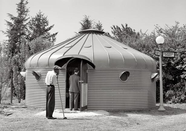 Dymaxion Deployment Unit (DDU) 1940sBuckminster Fuller