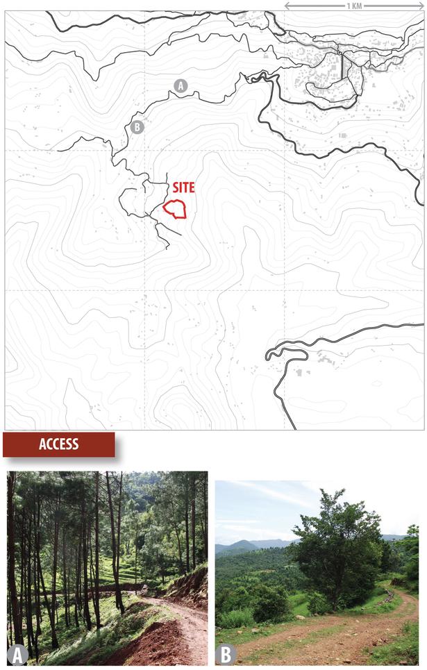 access study (Google Maps, Rhino 3D, Adobe Illustrator)