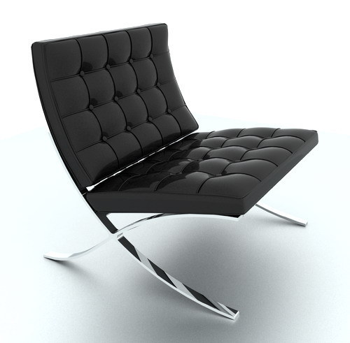 Barcelona Chair - Rendering