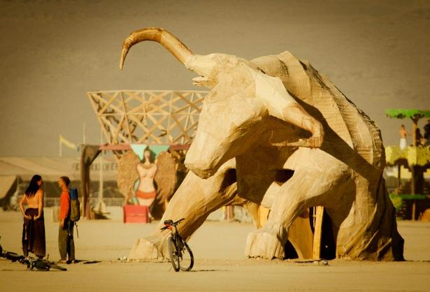 Built piece at Burning Man 2012.
